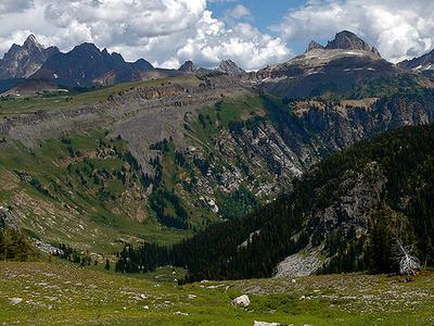 Death Canyon Trail - Grand Tetons - Wyoming - USA