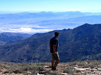 Death Valley From Wildrose Peak