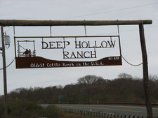 Deep Hollow Sign