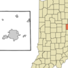 Delaware County Indiana Incorporated And Unincorporated Are