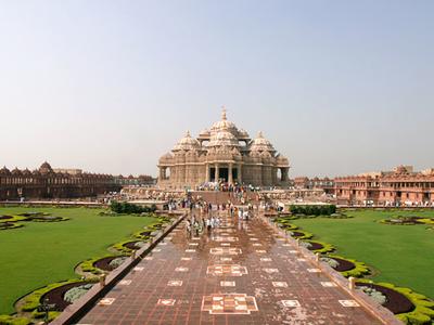 Delhi Akshardham Panorama