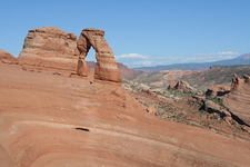Delicate Arch At The End Of The Trail