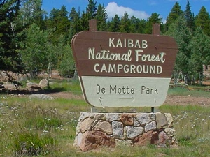 DeMotte Campground - Kaibab National Forest