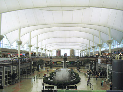 Denver International Airport's Signature Roof