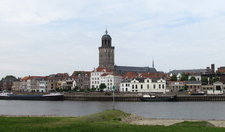 Deventer Skyline Showing The Lebuinus Church