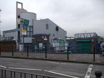 Devons Road DLR Station Entrance