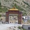 Dhankar Monastery Gate - Spiti Valley