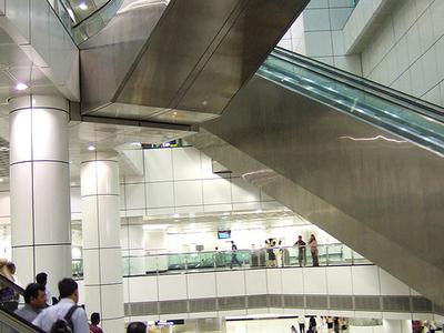 Dhobi Ghat MRT Station - Downtown Core Singapore