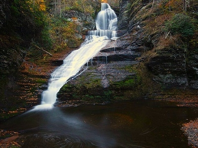 Dingmans Falls PA - Full View
