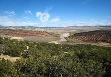 Dinosaur National Monument Landscape CO