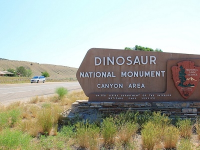 Dinosaur National Monument Plaque CO
