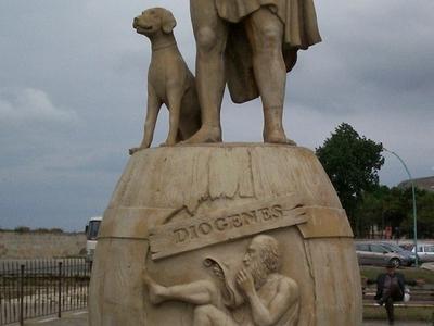 Diogenes Statue Sinop