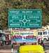 Directional Road Sign In Mehsana