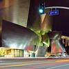 Disney Concert Hall At Night