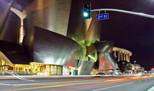 Disney Concert Hall At Night