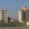 Distant View Of Cochabamba's El Prado District