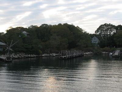 Docks At  Fishers  Island