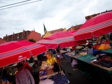 Dolac Market In Zagreb - Croatia