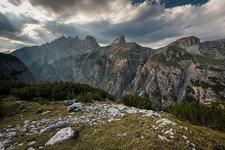 Dolomites On The Tre Cime Path