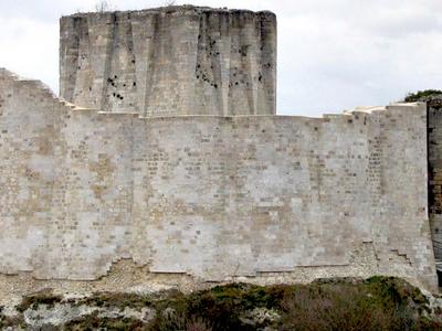 The Keep Of Chateau Gaillard