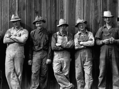 Dorothea Lange Photo Of Farmers In West Carlton