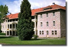 Double Cavalry Barracks At Fort Yellowstone - USA