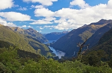Doubtful Sound From Wilmot Pass - Fiordland NZ