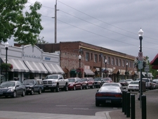Downtown Beaverton Along Broadway