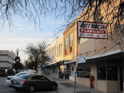 Downtown Belton Near Bell County Courthouse
