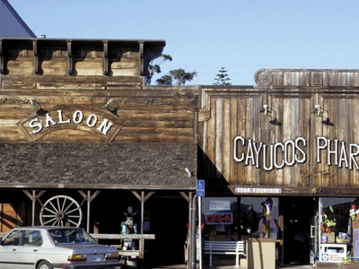 Downtown Cayucos C A