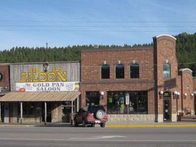 Downtown Custer South Dakota  2 0 0 9