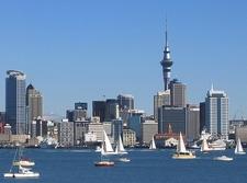 Downtown Auckland Skyline NZ