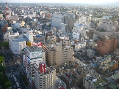 Downtown Kriyama Looking South