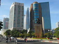 Downtown Of Ho Chi Minh City