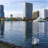 Downtown Orlando FL - From Lake Eola Park