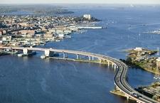Downtown Portland & Casco Bay Bridge Overview