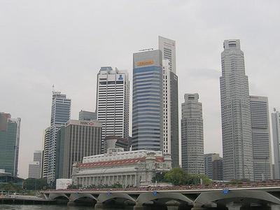 Downtown Singapore Buildings