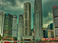 Asia Square Citi Bank Tower 1