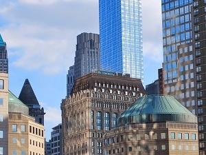 Walking Tour of Wall Street Fotos