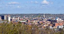 Downtown Dubuque Iowa