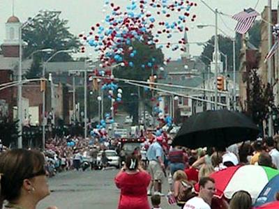 Downtown Elizabethton July 4th Parade 2008.