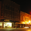 Downtown Elwood At Night