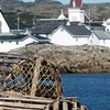 Downtown Fogo From Fishing Vesel