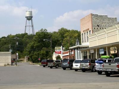 Downtown Glen Rose In 2005
