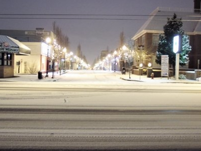 Downtown Gresham At Ne Roberts St And Powell Blvd.