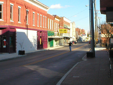 Downtown Horse Cave