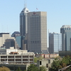 Downtown Indy From Parking Garage Zoom