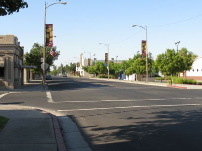Downtown Livingston In 2009