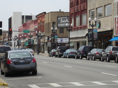 Downtown Ottawa Illinois