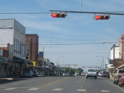Downtown  Pearsall